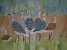 Flock of Cranes