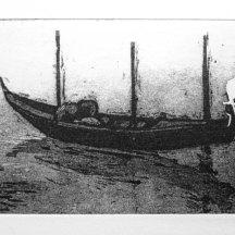 Venice Gondola Etching